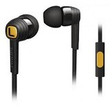 PHILIPS Earphones With Mic [SHE 7055BK] - Black - Earphone Ear Monitor / Iem